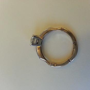 fabulous mine cut diamond ring - Fine Jewelry