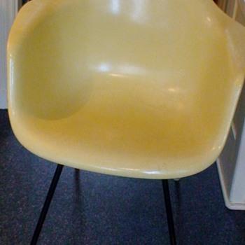 Eames Fiberglass Armchair Dated March 17, 1960 - Furniture
