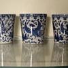 Blue Pheonix/Turkey ware cups