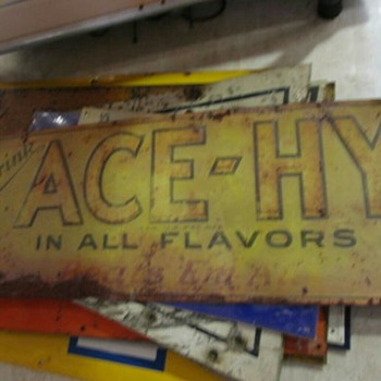 ACE-HY soda sign - Signs