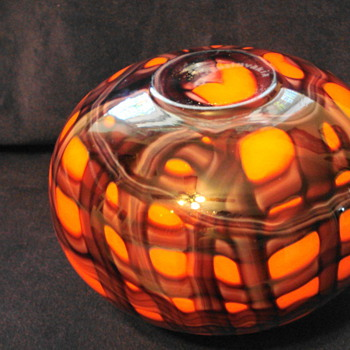 Family heirloom, quite sure it is Kralik but need verification.  - Art Glass