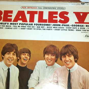 Beatles VI Vinyl Album - Records