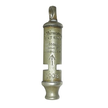 1902 Military whistle - Tools and Hardware