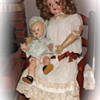 Armand Marseille and unknown composition baby doll...