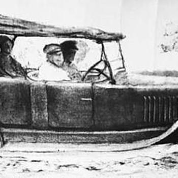 Drawing 1915 Crane-Simplex Model 5 Farnham-Nelson Torpedo Touring ... - Fine Art