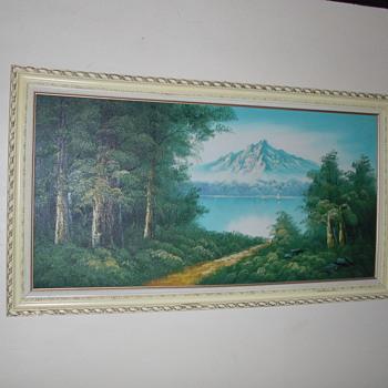 Original oil painting - Fine Art