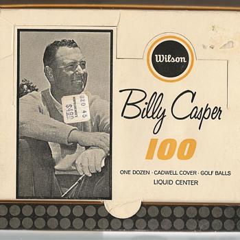 The Billy Casper 100 by Wilson Circa 1964