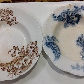 antiques plates c.1900 $1900 - China and Dinnerware
