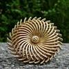Vintage Trifari Spiral Pinwheel Brooch