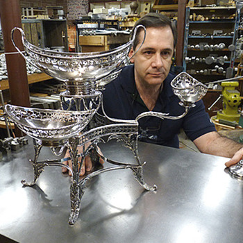 Repair of a Sterling Epergne - Silver