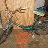 odd folding bicycle..cinzia