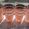 Pink tumblers