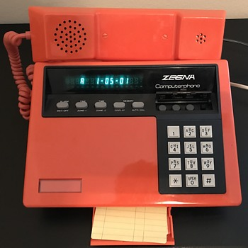 Needing information on a Vintage Zegna Computerphone :)