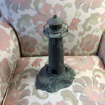 Really heavy brass lighthouse. - Lamps