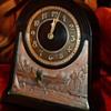 Vintage Chronart Polar Bird Shelf Clock