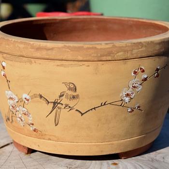 Chinese Jardinere or Bonsai Pot - Asian