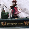 Cast Iron Butterfly Bank
