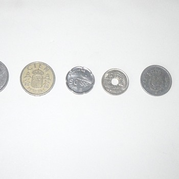 Spanish Coins - World Coins