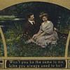 Romantic postcards for Valentine's Day