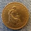 1927 1000 Reis coin from Brazil