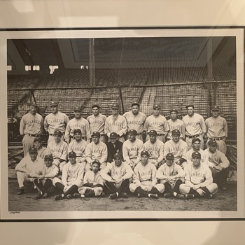 1927 New York Yankees Oversized Photo  - Baseball