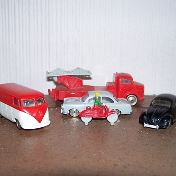 Lego HO scale vehicles - Toys