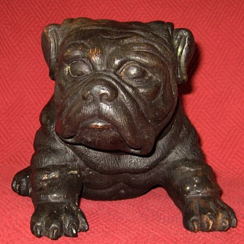 Bronze Pug Puppy Sculpture - Animals