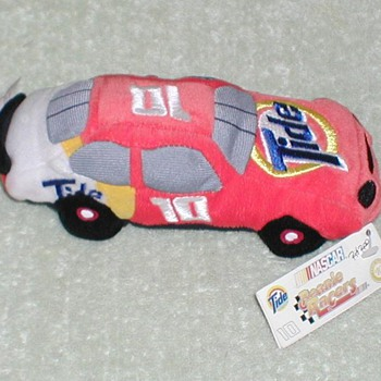 "1998 - NASCAR Ricky Rudd ""Tide"" Race Car Plush Toy - Toys"