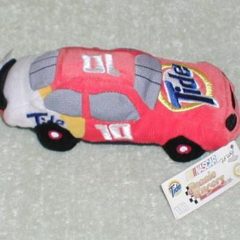 """1998 - NASCAR Ricky Rudd """"Tide"""" Race Car Plush Toy - Toys"""