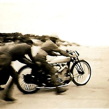 Monster ajs motorcycle 1938 - Motorcycles