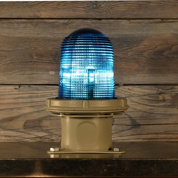 Appleton Electric Blue marker light - Lamps