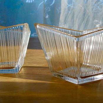 Mid-Century Crystal Bowls - Art Glass