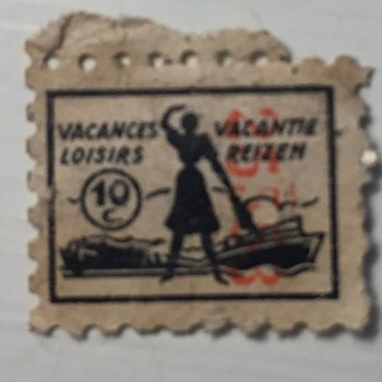 Old French Stamp