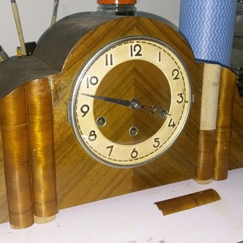 German Mantle Clock - Clocks