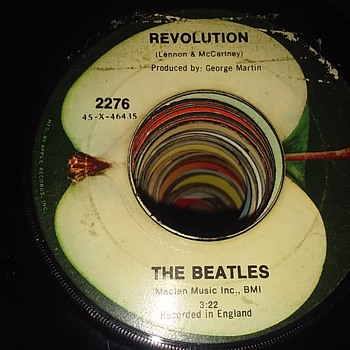 """You Say You Want A Revolution..Well You Know..We All Want To Change The World......"" - Records"