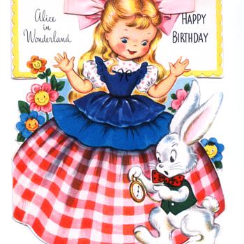 Alice in Wonderland | Fairfield Birthday Story Card