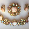 DeLizza & Elster Juliana Brooch, Bracelet & Earrings Set - Baroque Style