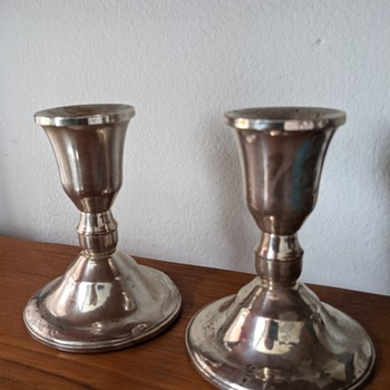 Duchin creation candle holders. - Lamps