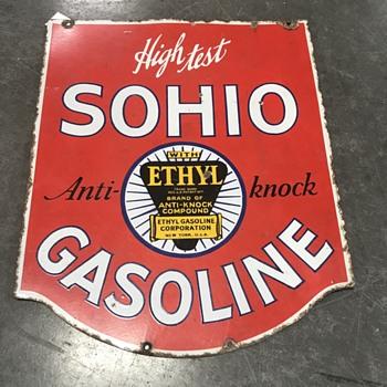 SOHIO  gasoline company  - Petroliana