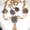 Hobe Demi Parure with Mink