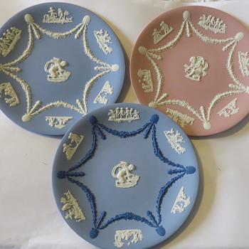 Wedgwood Jasperware Plates - China and Dinnerware