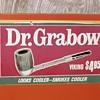 Vintage Dr. Grabow Viking Pipe Display Post 1954