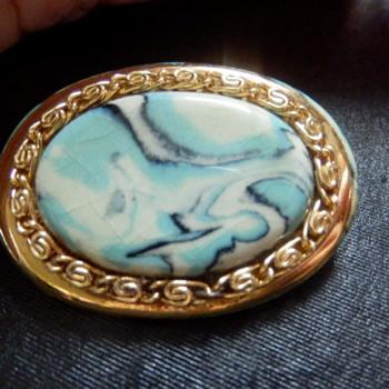 Channel Island Jewellery brooch (No 2) - Costume Jewelry
