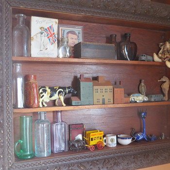 My lovely shelf of goodies!