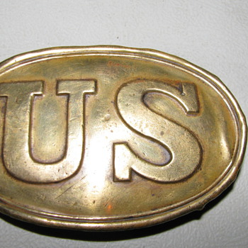 Antique U.S. Civil War Belt Buckle - Military and Wartime