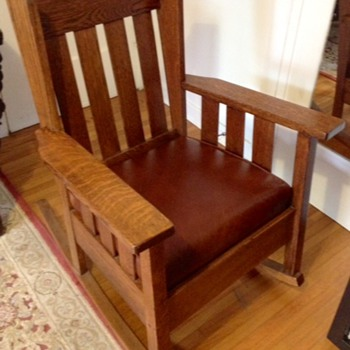 Antique rocker - Arts and Crafts