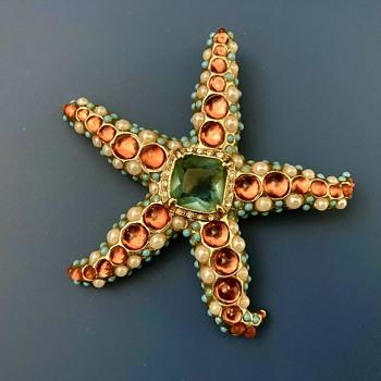 KJL starfish - Costume Jewelry