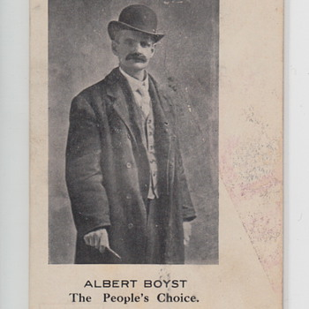 Albert Boyst Postcard The People's Choice  - Postcards