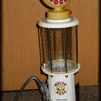 My Miniature Old Style Gas Pump  ( Liquor Dispenser ) - Bottles