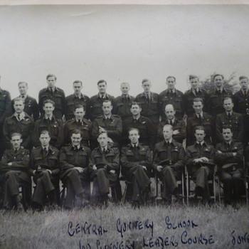 British WW11 Gunnery School June 1943 - Military and Wartime
